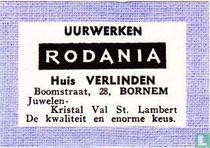 Uurwerken Rodania Huis Verlinden