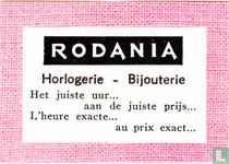 Rodania Horlogerie - Bijouterie