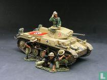 Panzer II Tank Set without Italian figures
