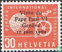 Paus bezoek aan Geneve
