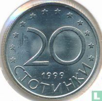 Bulgarije 20 stotinki 1999