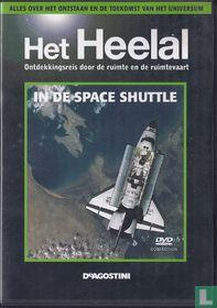 In de space shuttle