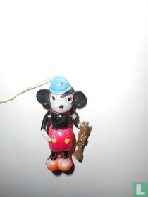 Mickey Mouse with trumpet