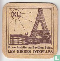 En exclusivité au Pavillon Belge, les bières d'Ixelles