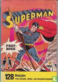 Superman pretboek