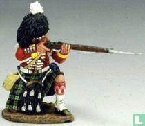 British 93rd highlander kneeling firing
