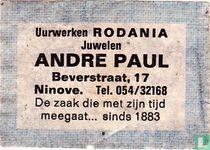Rodania Andre Paul
