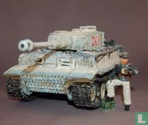 Tiger Tank with Michael Wittman in Winter Camo