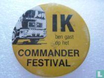 Ik ben gast op het Commander Festival
