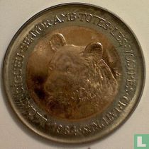 "Andorra 2 diners 1984 ""Brown bear"""