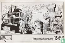 Stripschapkalender 1986