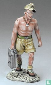 Soldier Carrying Jerry Can no shirt