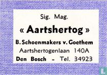 "Sig. Mag. ""Aartshertog"" - B. Schoenmakers v. Goethem"