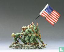 FLAG RAISING on Iwo Jima SET