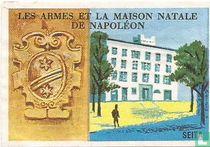Les Armes et la maison natale de Napoléon
