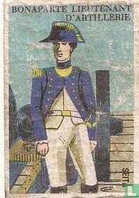 Bonaparte lieutenant d'artillerie