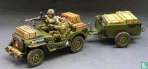 Airborne Jeep & Trailer