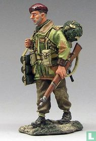 Paratrooper with Mortar Bombs