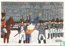 Les adieux de Fontainebleau -1814