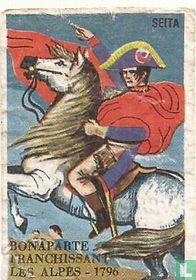 Bonaparte franchissant les Alpes 1796