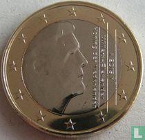 Netherlands 1 euro 2015