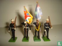 Royal Marine Colour Party