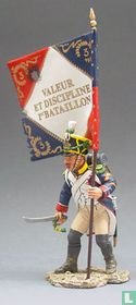 French Sergeant with Flag