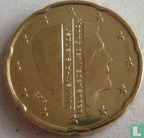 Netherlands 20 cent 2015