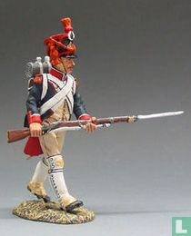 French Grenadier Advancing with Rifle