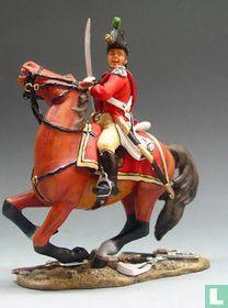 British Mounted Officer