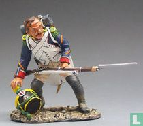 French Corporal Crouching