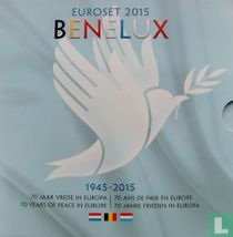 """Benelux mint set 2015 """"70 years of peace in Europe"""""""