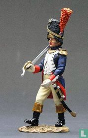 Guard Officer with sword Marching