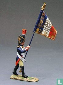 Guard Officer with Flag