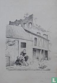 In het dorp Sonnenberg bij Wiesbanden.