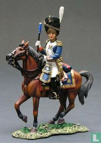 French Imperial Guard General Dorsene Mounted