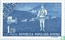 Postiljon en postkoets