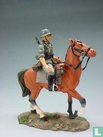 Mounted Rifleman with Helmet Looking Ahead