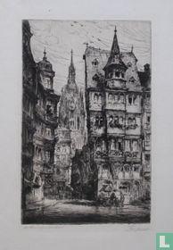 Stadsgezicht in Frankfurt