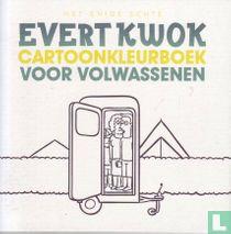 Het enige echte Evert Kwok cartoonkleurboek voor volwassenen
