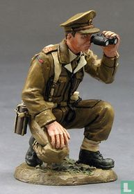 Kneeling British Officer w/ Bino