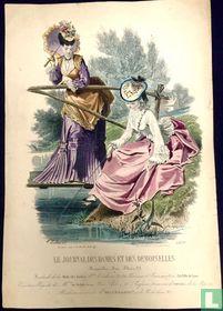 Jeune fille à la pèche et maman (1849-1853) - 1107B