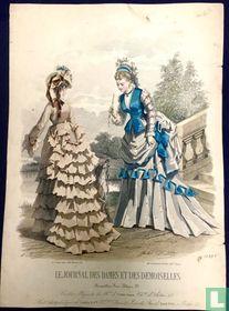 Deux dames et chien (1849-1853) - 1099B