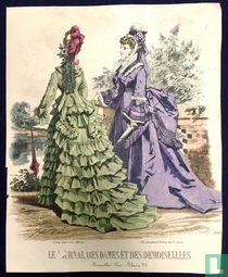 Deux dames au jardin (1849-1853) - 1086B