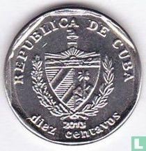 Cuba 10 centavos 2013