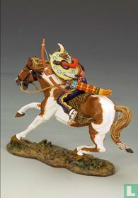 Mounted Warrior w / Bow and Arrow