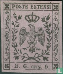 Modena - krantenzegel