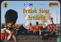 British Siege Artillery