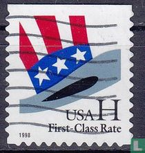H-Briefmarke erhöhen