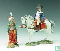 Mounted Napoleon and Mameluke Servant